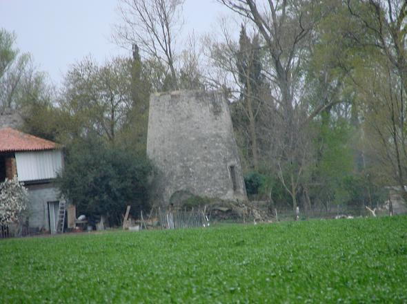 Ancien moulin à Bram