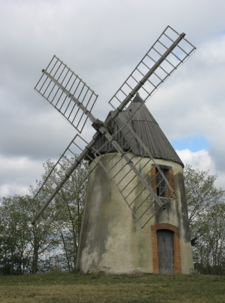 Le moulin en octobre 2017