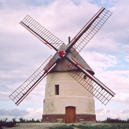 Moulin Guidon - Eaucourt sur Somme - Sept 2002
