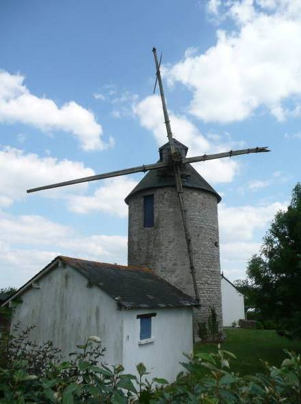 Le moulin de Beaulieu - de face
