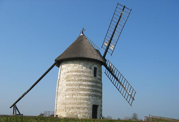 Moulin de pierre - Hauville