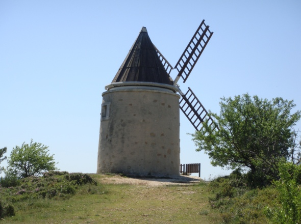 Moulin restauré de Martigues