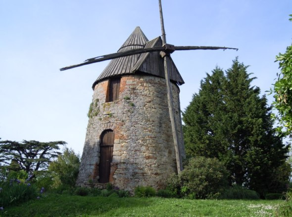 Moulin d'En Carretou de face