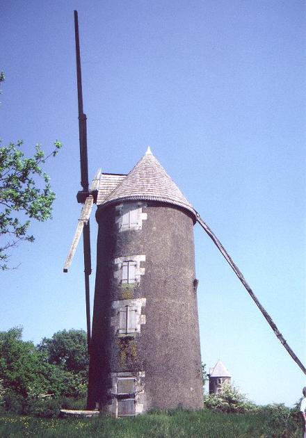 1er moulin de Mouilleron en Pareds