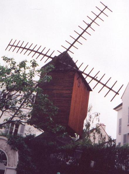 Moulin Radet - Paris - en 1997