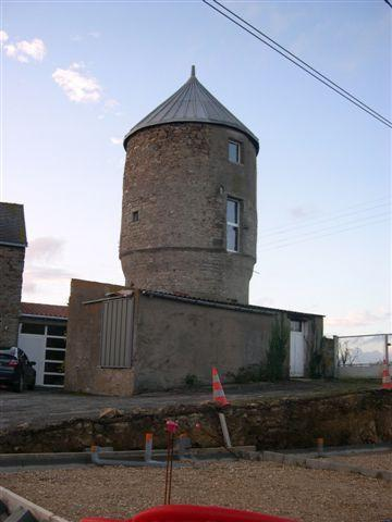 Moulin de St Savin, une face