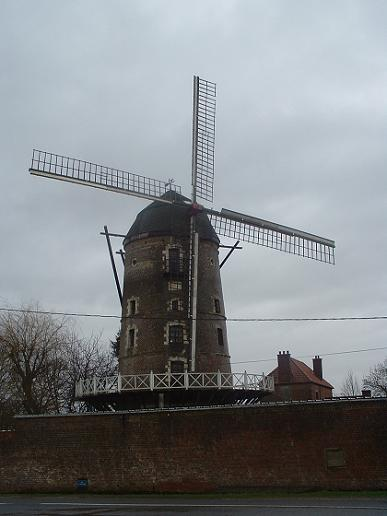Le grand Moulin - St Martin au Laert