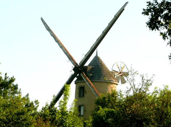 Moulin de face