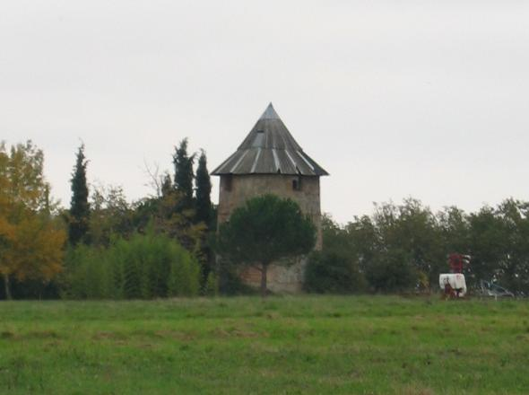 Moulin entre Le Burgaud et Beaupuy