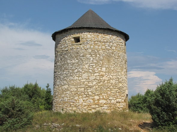 Moulin de Parignargues - autre face